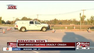 One killed, two injured in accident