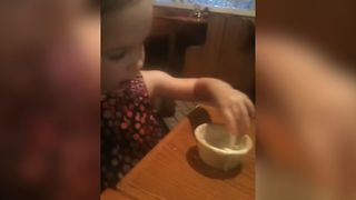 Little Girl Loves Ranch