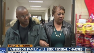 Jay Anderson's family will seek federal charges against Wauwatosa police officer - Video