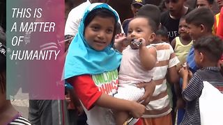 Life inside the Rohingya refugee camps of Indonesia - Video