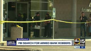 FBI asking for public's help solving Glendale bank robbery - Video