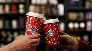 Winter Starbucks Beverages Around The World - Video