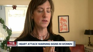 Heart attack warning signs in women