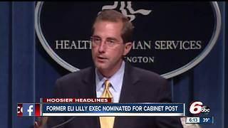 Former Eli Lilly executive nominated to be Health and Human Services Secretary - Video