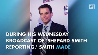 Shepard Smith Challenges Trump's Claim That He Has 'Little Time For Watching TV'