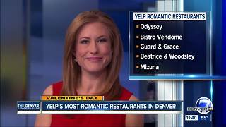 Yelp names most romantic restaurants in Denver