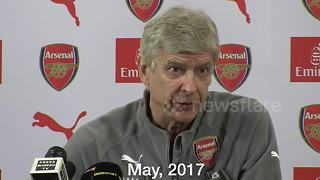 Not for sale! Wenger's stance on Sanchez remained consistent throughout the summer - Video