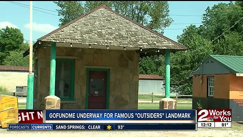 GoFundMe underway for 'Outsiders' landmark