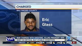 Man arrested after shooting, killing pregnant wife then assaulting her son - Video