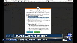 CDOT offers personalized alerts for your route