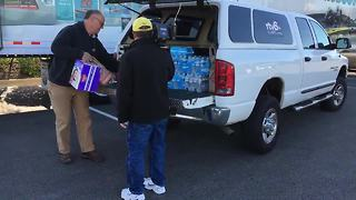 HOOSIERS HELPING HOUSTON: Indy media joins forces to collect donations for Harvey relief in Houston - Video