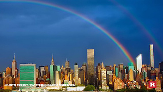 Never forget these rainbows that appeared on 9/11 | Rare News - Video