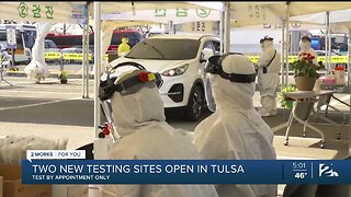 Two New Testing Sites to Open in Tulsa