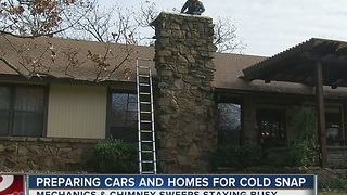 Preparing Cars and Homes for Cold Snap - Video