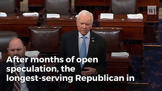 Orrin Hatch Announces Decision For 2018 Senate Race - Video