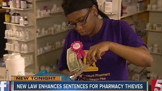 New Law Cracks Down On Pharmacy Thefts - Video
