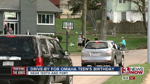 Drive-By for Omaha Teen's Birthday