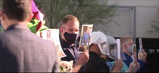 Mask Up NV parade brings entertainers to front line of COVID fight