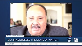 Martin Luther King III calls threats to Capitols ahead of Biden inauguration 'frightening'