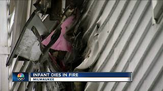 1-year-old girl dies after house fire on Milwaukee's north side
