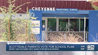 Scottsdale parents to vote on return to school plan