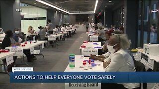 Gov. Gretchen Whitmer talks early voting, state budget and COVID-19 on 7 Action News