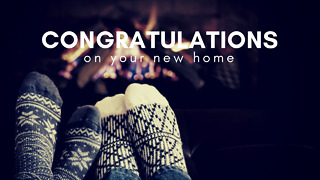 Congratulations on Your New Home - Greeting 2