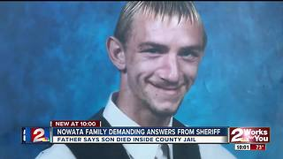 Nowata family asks for answers after man dies from drugs inside county jail - Video