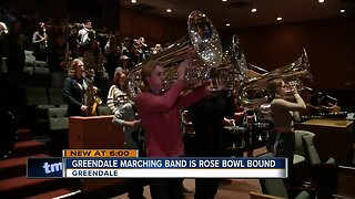 Greendale Marching Band overcoming adversity, en-route to Rose Parade