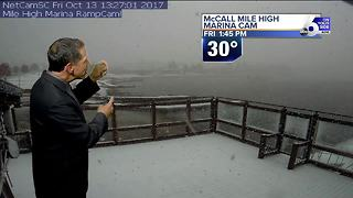 Idaho Mountain Snow Will Give Way To Warming Trend - Video