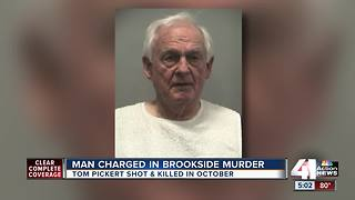 Man charged in murder of Brookside attorney - Video