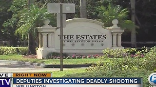 PBSO investigating shooting death of 17-year-old in Wellington - Video