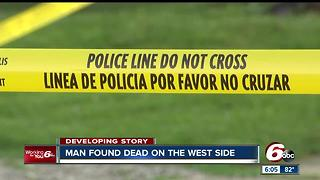 Police find man dead on the west side - Video
