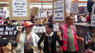 London's Chinatown strikes over immigration raids - Video
