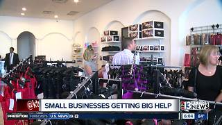 Small businesses in Las Vegas valley growing with free, expert guidance - Video