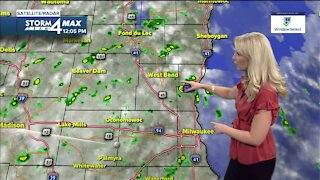 Windy with scattered showers for Thursday with a cold front moving in