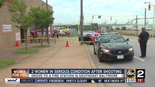 Police: 2 women shot, drove themselves to fire station for help - Video