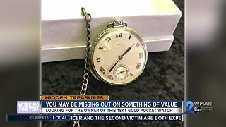 Are you missing a 18KT gold pocket watch? - Video