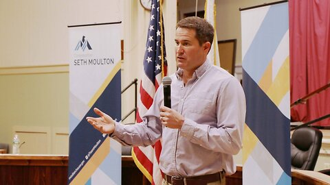 US Rep. Seth Moulton Is Running For President