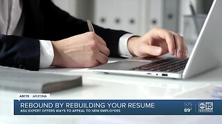Experts offer ways to rebuild your resume as nation rebounds