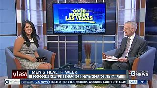 Comprehense Cancer Centers talks about Men's Health Week - Video