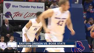 Broncos cruise in season opener vs. Eastern Oregon - Video