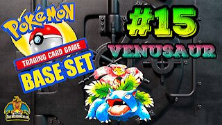 Pokemon Base Set #15 Venusaur | Card Vault