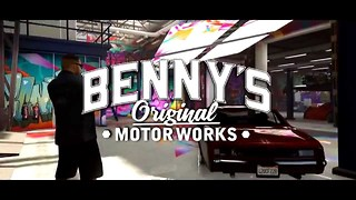 GTA 5 Online Benny's Mod Shop Garage Location Bennys Mod Shop GTA 5 Where Is Benny's Garage GTA 5  - Video