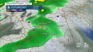 Strong Storms Possible Tomorrow