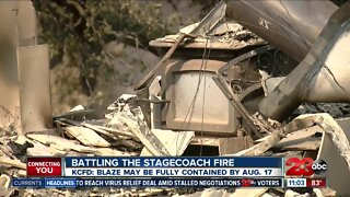 KCFD still battling Stagecoach Fire north of Kern County.