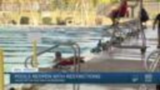 Valley pools reopen with restrictions