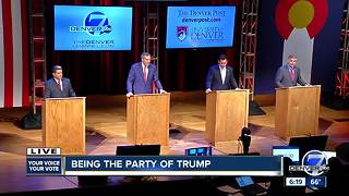 Full debate: Denver7 and The Denver Post host Republican gubernatorial debate