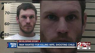 Man accused of shooting wife, child - Video