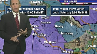 Winter Weather Advisory for the Valley - Video